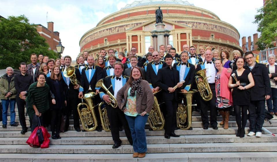 Regent Brass, Family and Friends at the Royal Albert Hall, London, October 2013