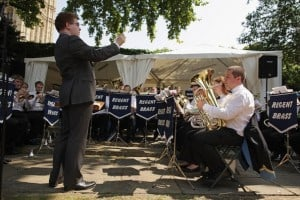 Regent Brass - Westminster College Gardens 2011