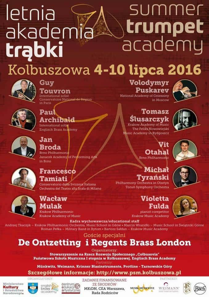 Summer Trumpet Academy - Kolbuszowa - Poland