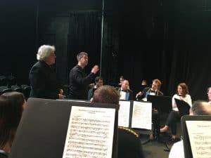 Regent Brass receiving feedback post-concert