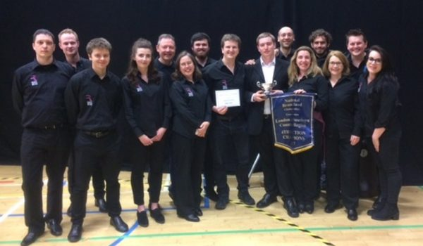 London Southern Counties Champs! Regent Community Brass